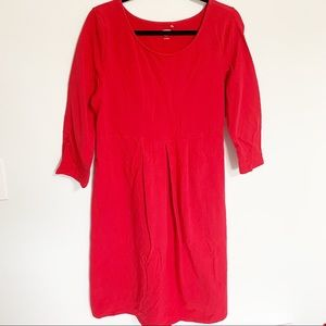 Old Navy red maternity dress